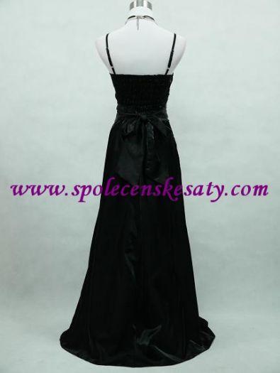 2c4a8de94931 Černé večerní šaty se stříbrnou ...