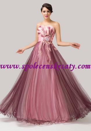 Dlouhé společenské šaty  50864ad7ba